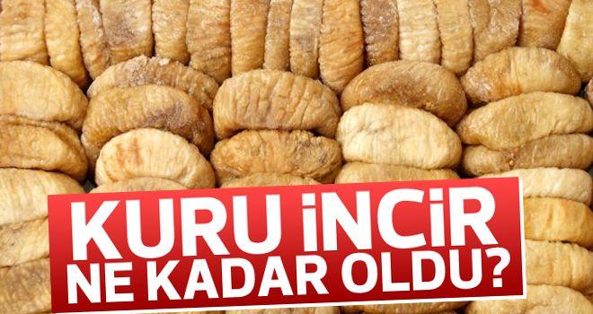 Kuru incirin kilogramı 12,70 lira