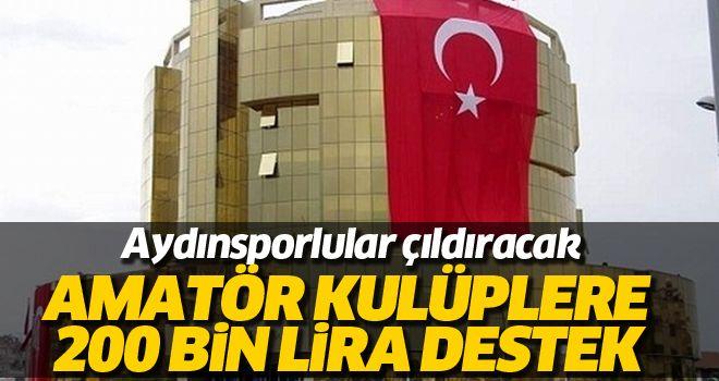 Aydın Büyükşehir Belediyesinden amatör kulüplere destek