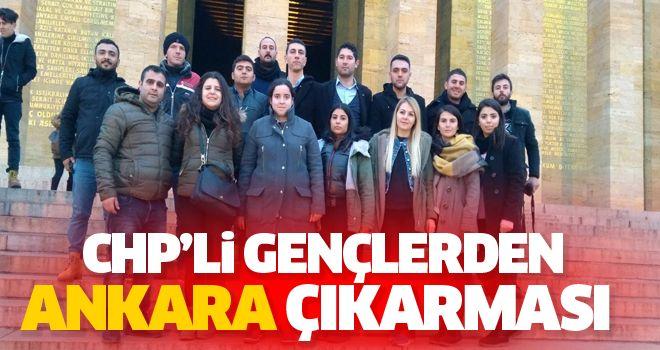 CHP'liler Ankara'ya çıkarma yaptı