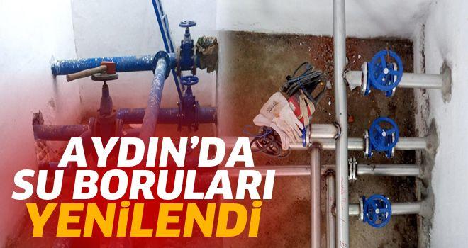 Aydın'da halk paslanmış borulardan su içmeyecek