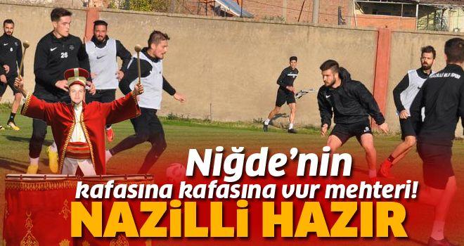 Nazilli'de gözler Niğde maçında