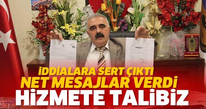 'HİZMETE TALİBİZ'