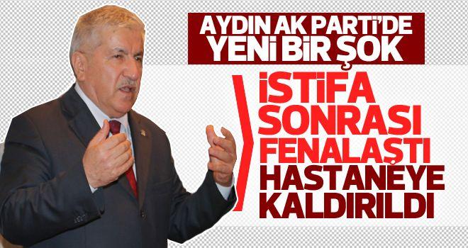 Ahmet Ertürk hastaneye kaldırıldı