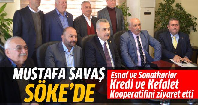 AK Parti Aydın Milletvekili Savaş'ın Söke ziyareti