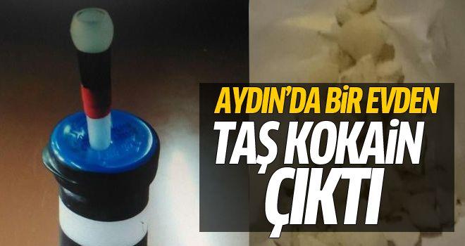 Aydın'da taş kokain ele geçirildi