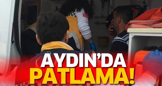Didim'de teknede gaz patlaması: 1 yaralı
