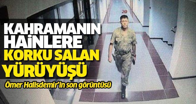 Şehit Ömer Halisdemir'in son fotoğrafları