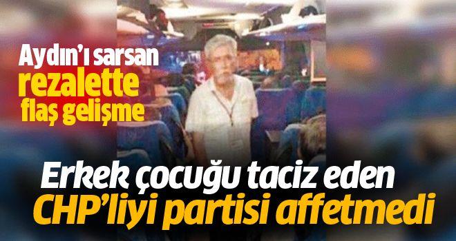 Tacizci CHP'li ihraç edildi