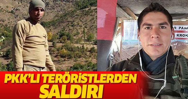 PKK'lı Teröristler Saldırı