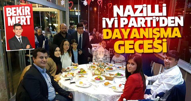 İYİ Parti dayanışma gecesi düzenledi