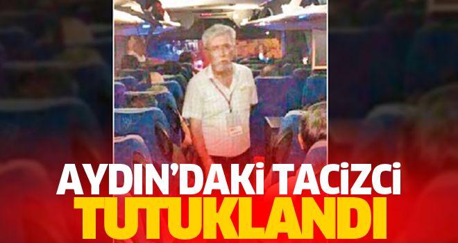 Aydın'da sapık tutuklandı