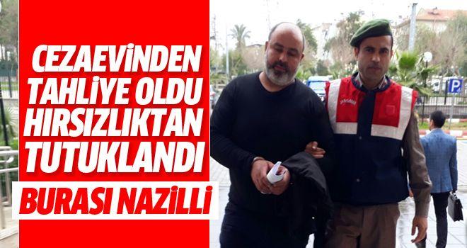 Nazilli'de motosiklet hırsızı tutuklandı