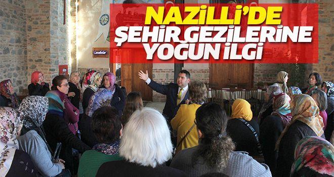Nazilli'de Şehir Gezilerine Yoğun İlgi