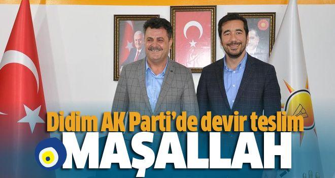 AK Parti Didim'de Subaşı dönemi başladı