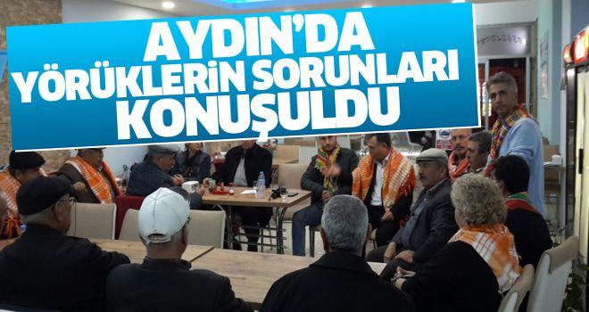 Aydın'da yörüklerin sorunları konuşuldu