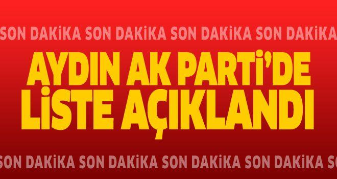 AK Parti'de Beklenen Liste Açıklandı
