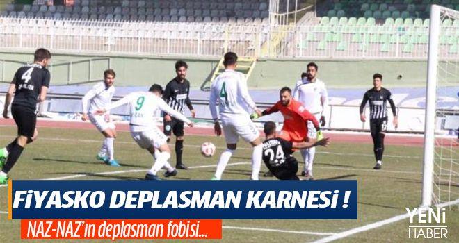 FİYASKO DEPLASMAN KARNESİ!