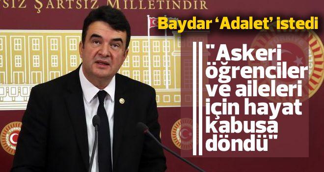 Baydar'dan açıklama