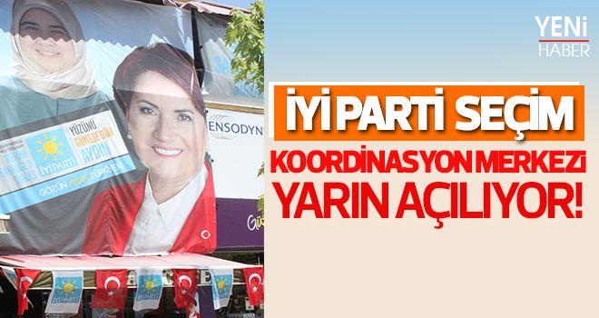 İYİ Parti seçim koordinasyon merkezi yarın açılıyor
