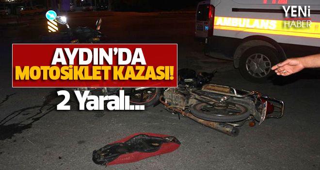 Aydın'da Motosiklet Kazası!
