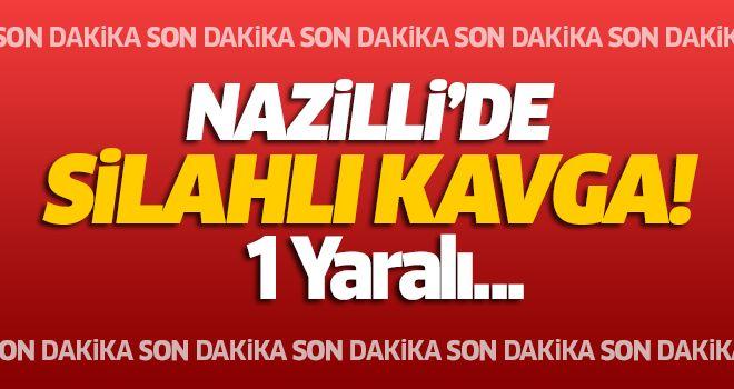 Nazilli'de Silahlı Kavga!