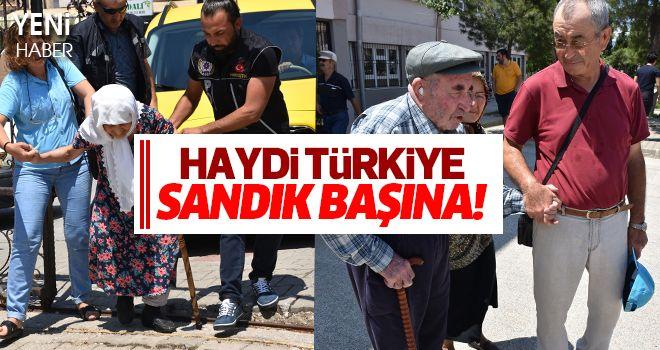 Haydi Türkiye Sandık Başına!