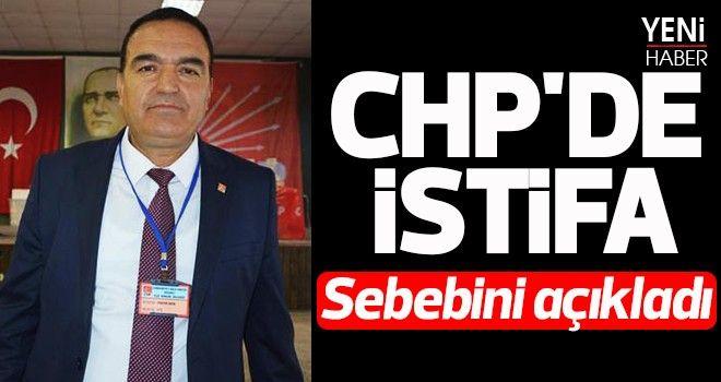 CHP'de istifa