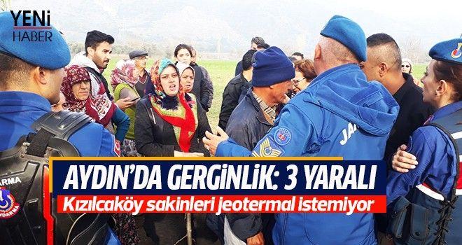 Aydın'da gerginlik: 3 yaralı