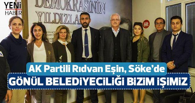 AK Partili Rıdvan Eşin, Söke'de
