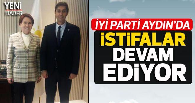 İYİ Parti Aydın'da istifalar devam ediyor