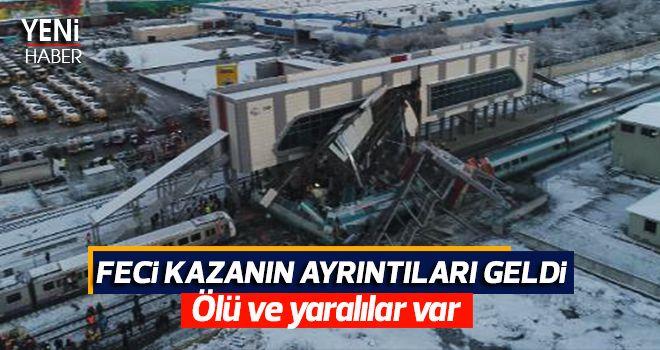 Tren kazası yürekleri yaktı