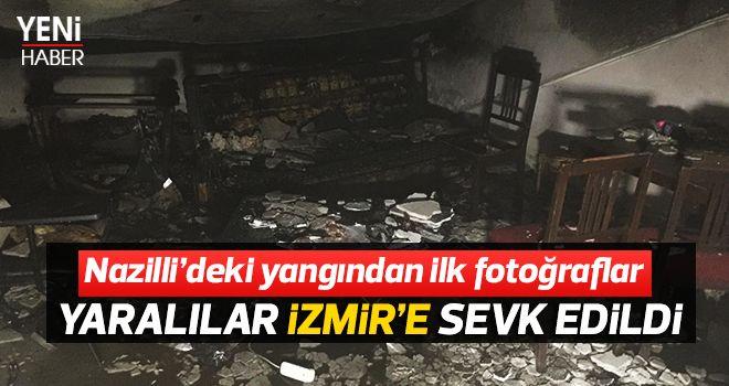 Nazilli'deki yangından ilk fotoğraflar