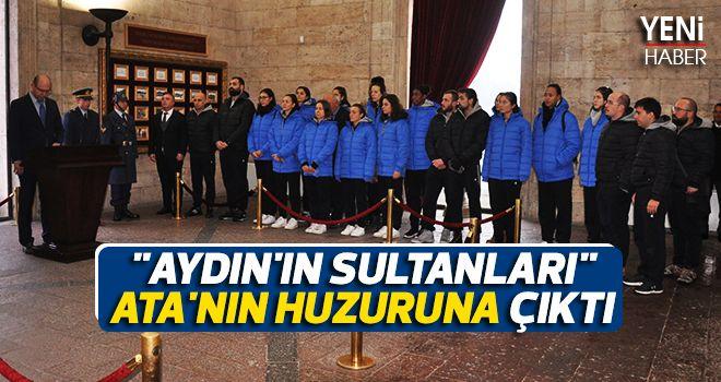 Aydın'ın Sultanları Ata'nın huzurunda