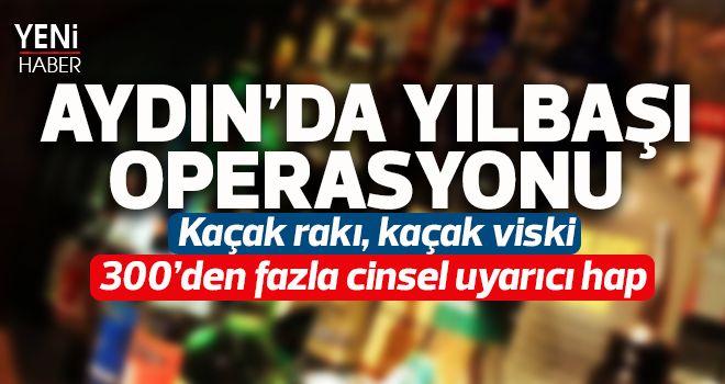 Aydın'da yılbaşı operasyonu