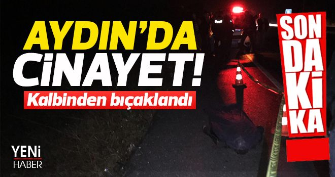 AYDIN'DA CİNAYET!
