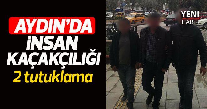 Aydın'da insan kaçakçılığı