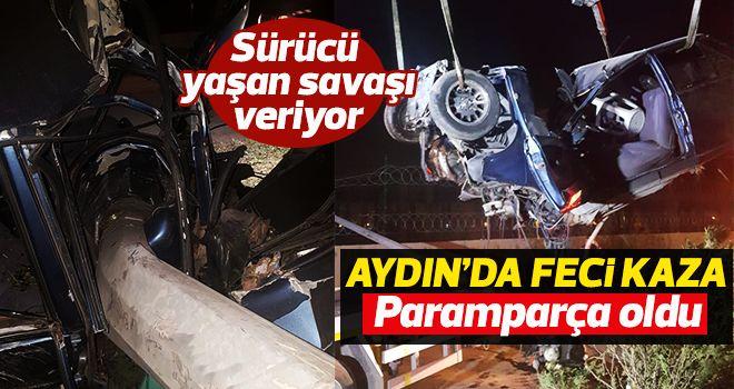 Aydın'da feci kaza!!!