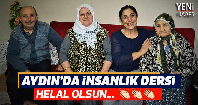 Aydın'da insanlık dersi