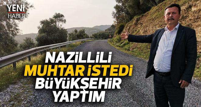 Büyükşehirden Nazilli'ye yol hamlesi