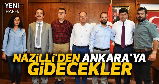 Nazilli'den Ankara'ya gidecekler