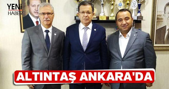 Altıntaş, Bozdoğan'ı Ankara'ya taşıdı