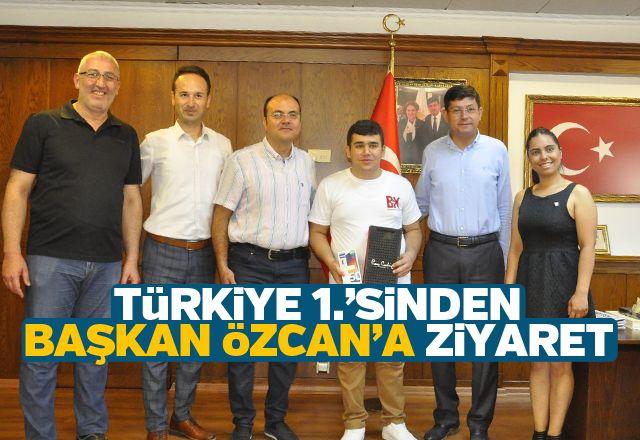 Türkiye 1.'sinden Başkan Özcan'a ziyaret