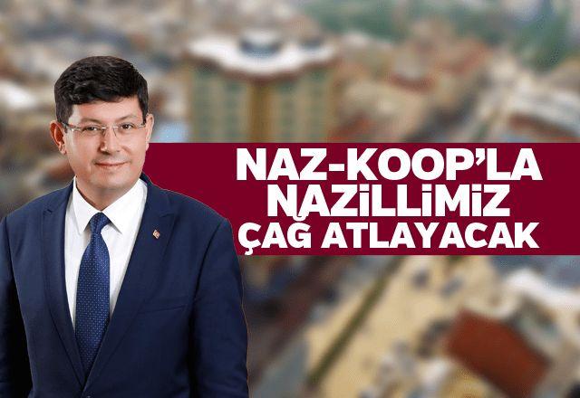 Kürşat Engin Özcan: Naz-Koop'la Nazillimiz çağ atlayacak