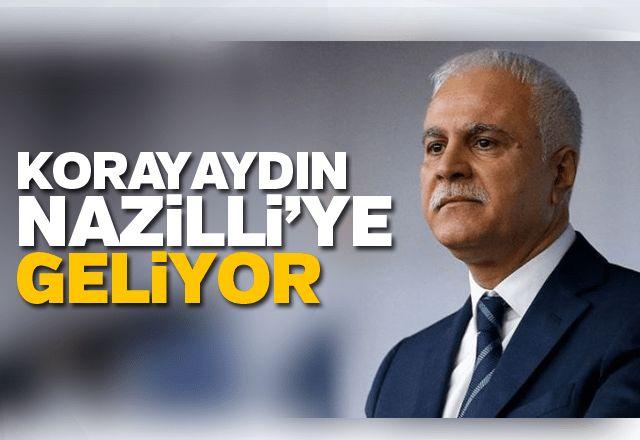Koray Aydın Nazilli'ye geliyor
