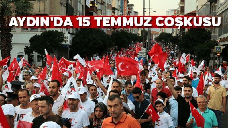 Aydın'da 15 Temmuz Demokrasi ve Milli Birlik Günü