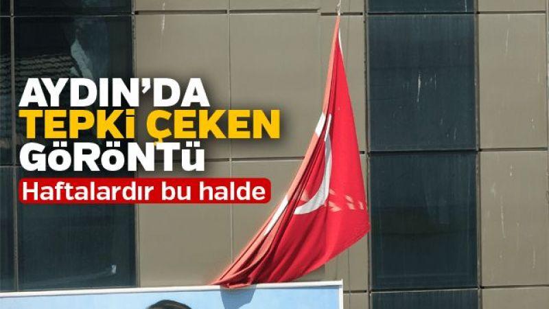 Aydın'da tepki çeken görüntü