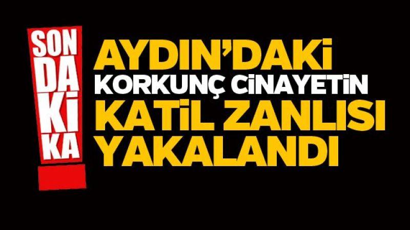 Aydın'da cinayet zanlısı yakalandı