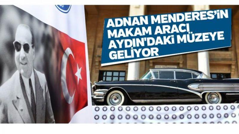 Adnan Menderes'in makam aracı Aydın'daki müzeye geliyor