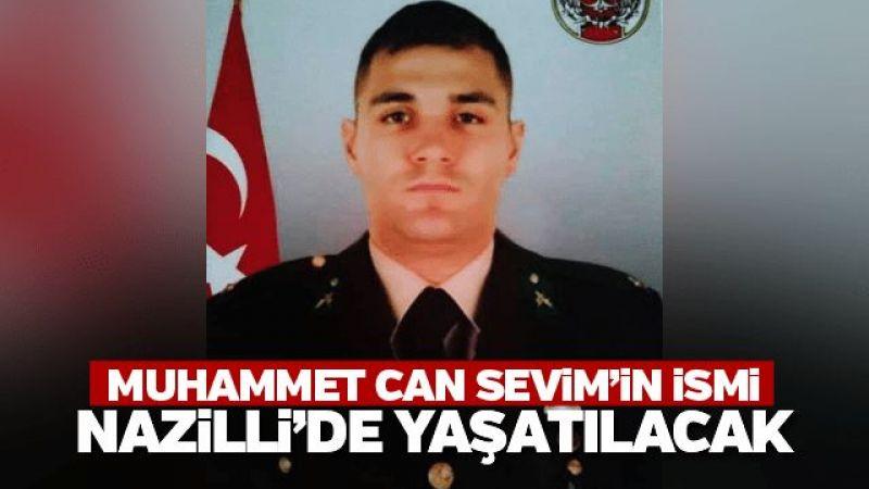 Muhammet Can Sevim'in ismi Nazilli'de yaşatılacak