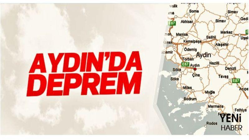 Aydın'da deprem oldu